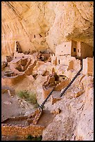 Long House Ancestral Puebloan dwelling, Wetherill Mesa. Mesa Verde National Park ( color)