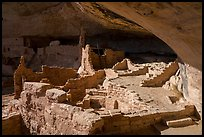 Long House, large Ancestral Puebloan structure. Mesa Verde National Park ( color)