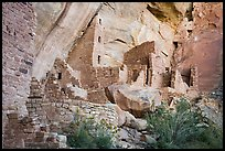 Square Tower House Ancestral Puebloan dwelling. Mesa Verde National Park ( color)