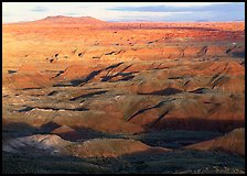 Painted Desert, early morning. Petrified Forest National Park, Arizona, USA.