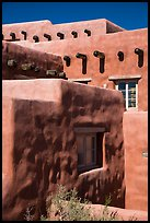 Architectural detail, Painted Desert Inn. Petrified Forest National Park ( color)