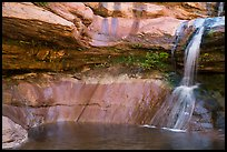 Pine Creek waterfall. Zion National Park ( color)