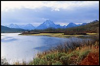 Oxbow bend and Mt Moran. Grand Teton National Park ( color)