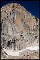 Diamond Face, Longs Peak. Rocky Mountain National Park ( color)