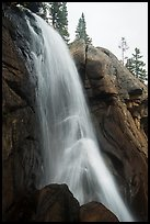 Ouzel Falls, Wild Basin. Rocky Mountain National Park ( color)
