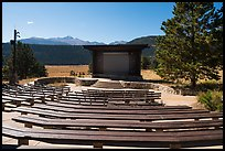 Amphitheater, Moraine Park Campground. Rocky Mountain National Park ( color)