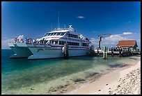 Yankee Freedom Ferry. Dry Tortugas National Park, Florida, USA. (color)