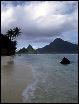 South Beach, Ofu Island. National Park of American Samoa (color)