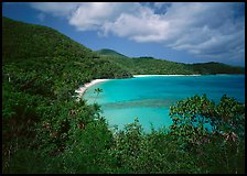Hawksnest Bay. Virgin Islands National Park ( color)
