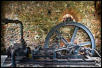 Steam engine, Reef Bay sugar factory. Virgin Islands National Park ( color)