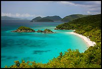Trunk Bay. Virgin Islands National Park ( color)