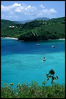 Tropical anchorage, Francis Bay. Virgin Islands National Park ( color)