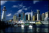 Darling harbour. Sydney, New South Wales, Australia (color)