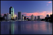 Dawn on the Brisbane River. Brisbane, Queensland, Australia ( color)