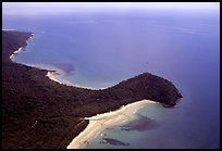 Aerial view of Cape Tribulation. Queensland, Australia ( color)