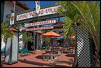 Ching Young Village shopping center, Hanalei. Kauai island, Hawaii, USA