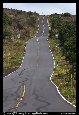 Pilani Highway. Maui, Hawaii, USA (color)