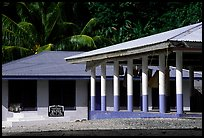 Home and fale in Luma. American Samoa ( color)