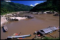 Pakbeng. Mekong river, Laos ( color)