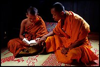 Pictures of Buddhist Monks