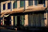 Old colonial houses. Luang Prabang, Laos ( color)