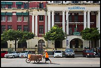 Post office. Yangon, Myanmar ( color)