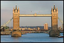 Tower Bridge, late afternoon. London, England, United Kingdom ( color)