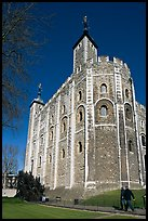 White Tower, inside the Tower of London. London, England, United Kingdom (color)