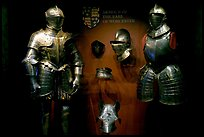 Armour of the Earl of Worcester on display in the White House, Tower of London. London, England, United Kingdom ( color)