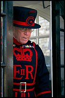 Yeoman Warder (Beefeater), Tower of London. London, England, United Kingdom ( color)