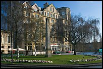Orange Grove Plaza and Empire Hotel. Bath, Somerset, England, United Kingdom (color)