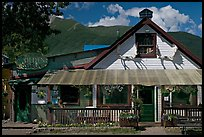 McCarthy lodge. McCarthy, Alaska, USA ( color)