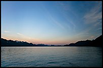 Resurrection Bay, sunset. Seward, Alaska, USA