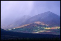 Storm on mountains. Alaska, USA ( color)