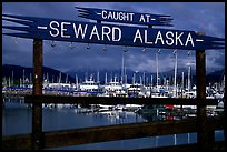 Seward harbor. Seward, Alaska, USA ( color)
