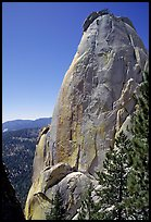 Granite pinnacle, the Needles. Giant Sequoia National Monument, Sequoia National Forest, California, USA ( )
