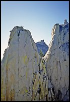 Granite spires, the Needles. Giant Sequoia National Monument, Sequoia National Forest, California, USA ( color)