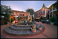 Ghirardelli Square at dusk. San Francisco, California, USA