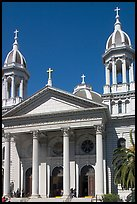 Saint Joseph Cathedral. San Jose, California, USA (color)