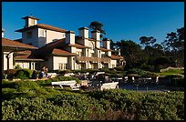 Spanish Bay Inn, Pebble Beach. Pebble Beach, California, USA ( color)
