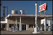 Roys Cafe and gas station, Amboy. California, USA