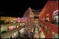 Westfield Shoppingtown Horton Plaza, designed by Jon Jerde. San Diego, California, USA