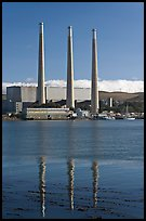 Duke Energy power plant. Morro Bay, USA (color)