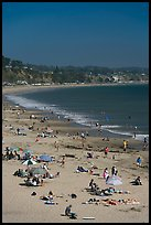 New Brighton State Beach, Capitola. Capitola, California, USA