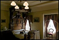 Room where Mrs Winchester died. Winchester Mystery House, San Jose, California, USA ( color)