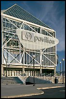 HP Pavilion (former Arena). San Jose, California, USA (color)