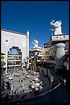 Hollywood and Highland shopping and entertainment complex. Hollywood, Los Angeles, California, USA