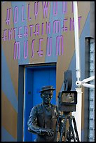 Entrance of the Hollywood Entertainment Museum. Hollywood, Los Angeles, California, USA