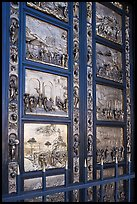 Ghiberti doors called Gates of Paradize, Grace Cathedral. San Francisco, California, USA ( color)