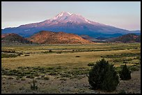 Mount Shasta in late summer. California, USA